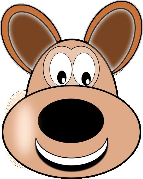 474x594 Smiley Dog Face Clip Art