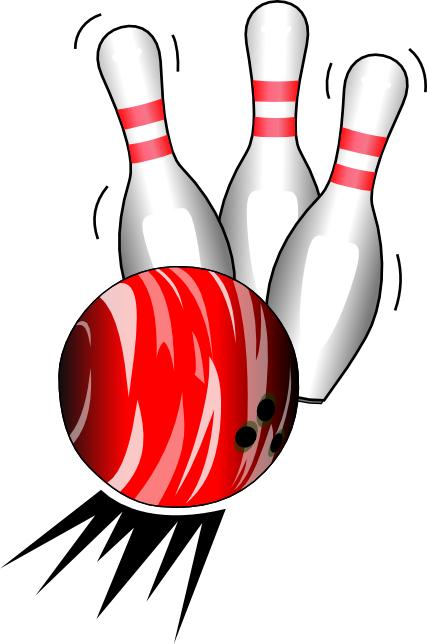 427x644 Clever Bowling Pins Clipart Clip Art At Clker Com Vector Online
