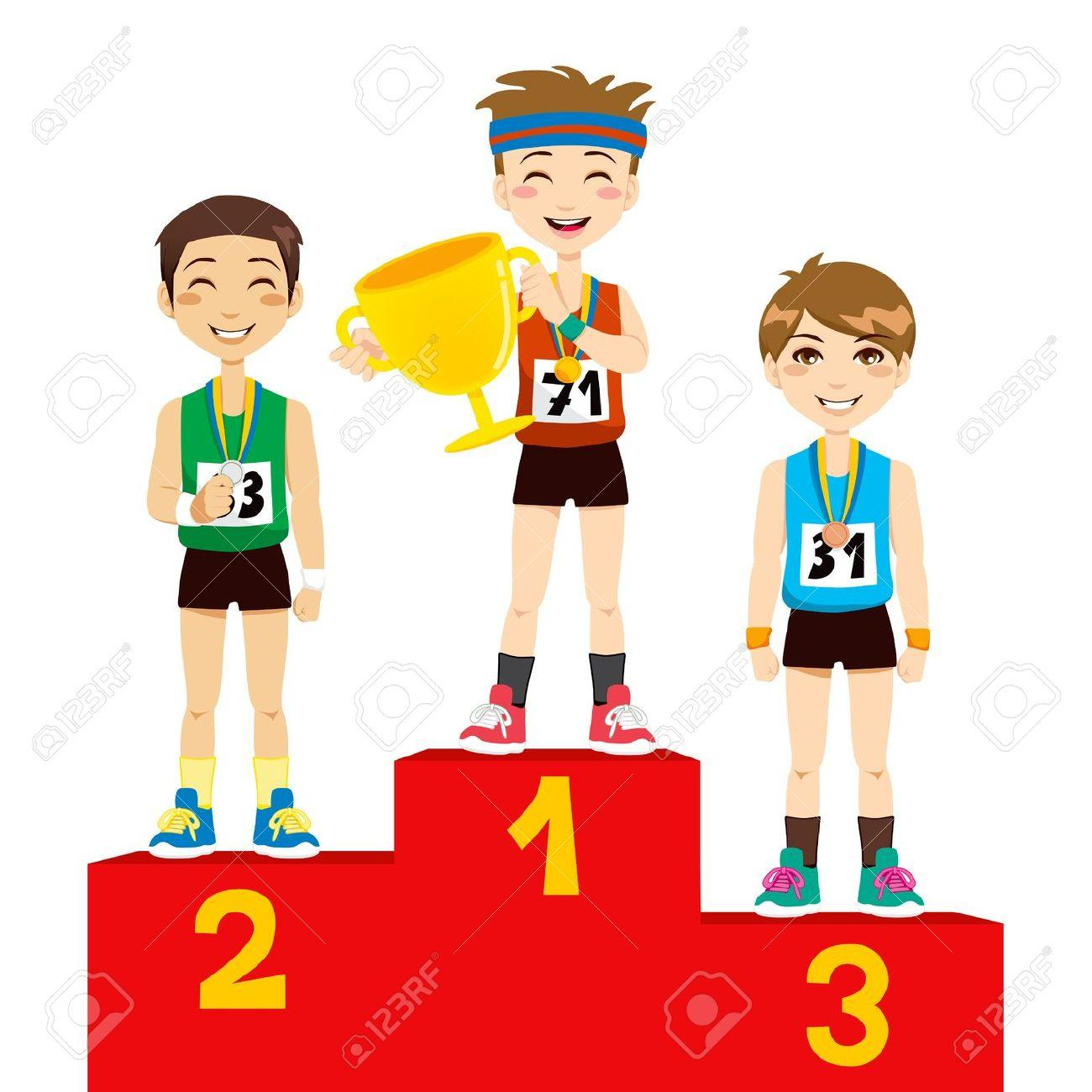 1300x1300 Olympic Winner Clip Art