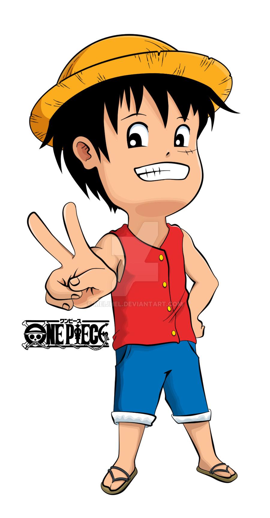 900x1726 Chibi Luffy