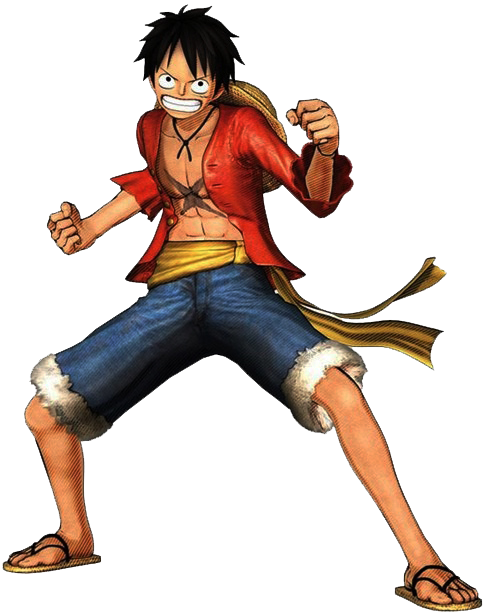 485x615 One Piece Luffy Png Clipart Png Mart