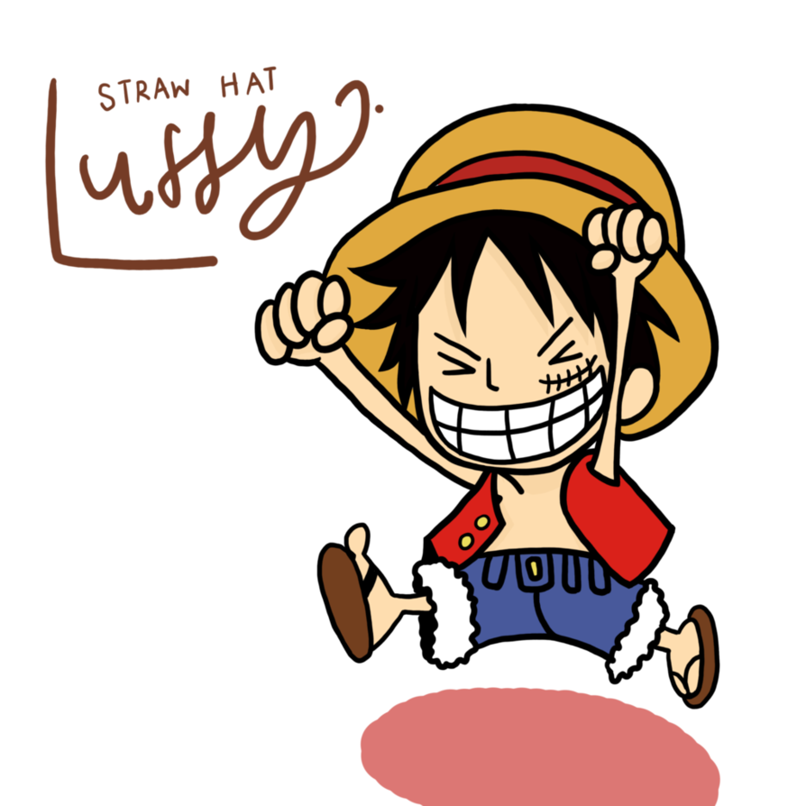 894x894 Collection Of Luffy One Piece Drawing Chibi High Quality