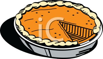 350x202 Pictures Of A Fresh Pumpkin Pie With One Missing Piece In A Vector