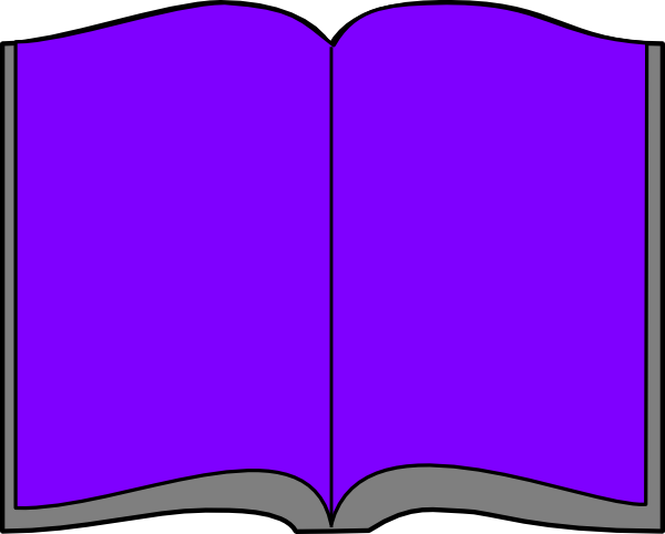600x482 Open Book Clip Art