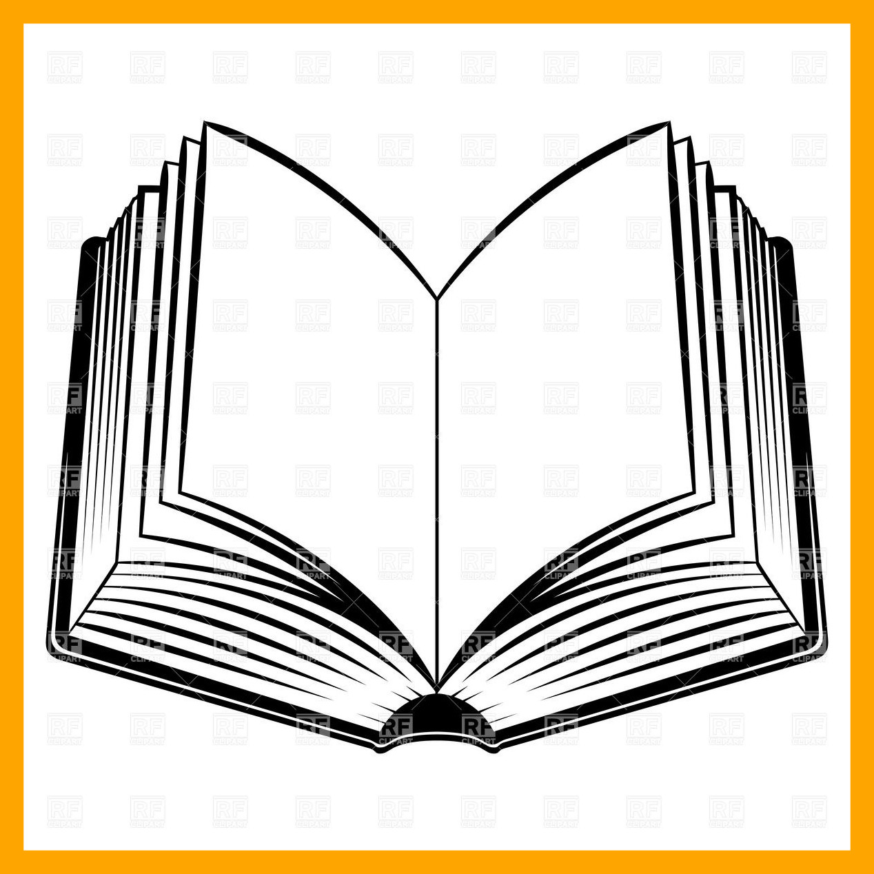 1268x1268 Shocking Simple Open Book Royalty Vector Clip Art Image U