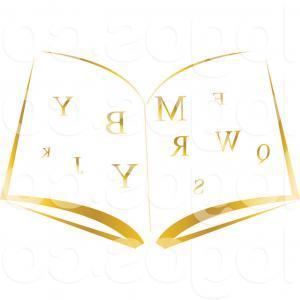 300x300 Simple Open Book Vector Clipart Sohadacouri