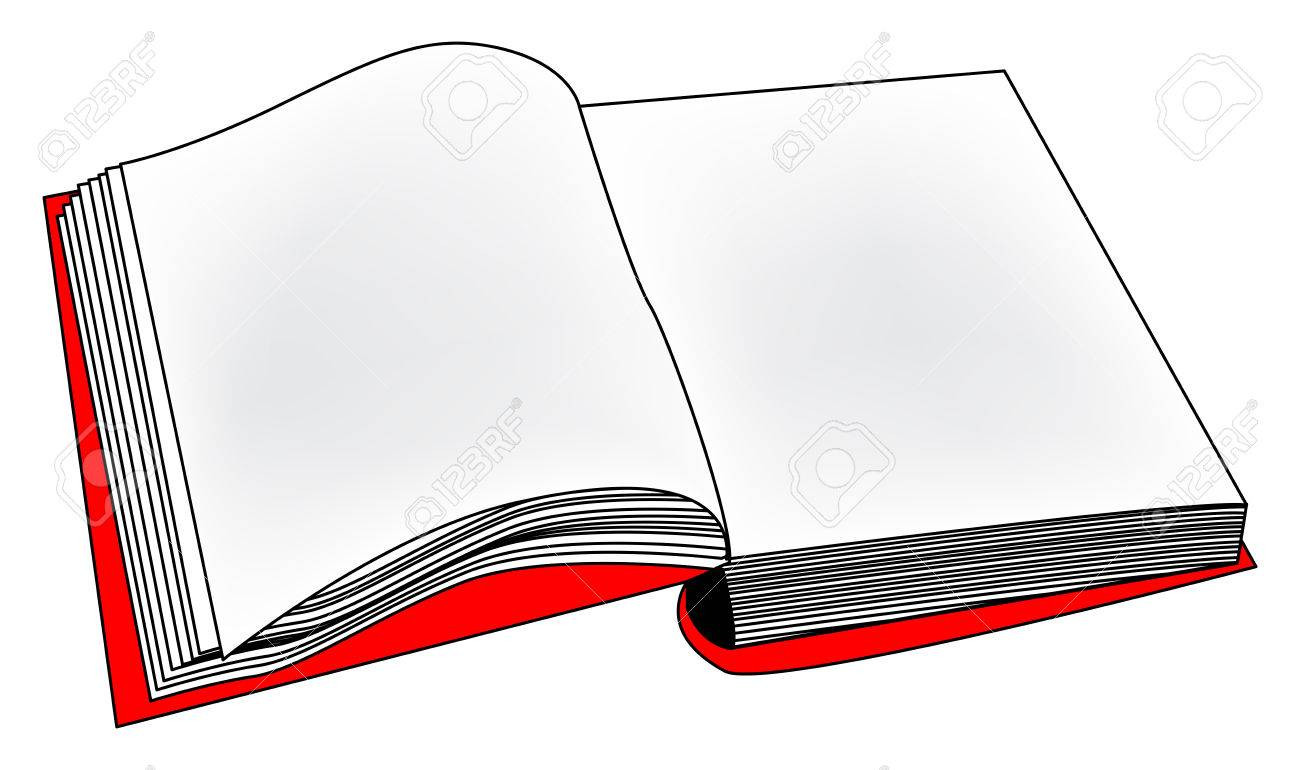 1300x770 Trendy Book Outline Clip Art Cool Coloring Pages Best Photos