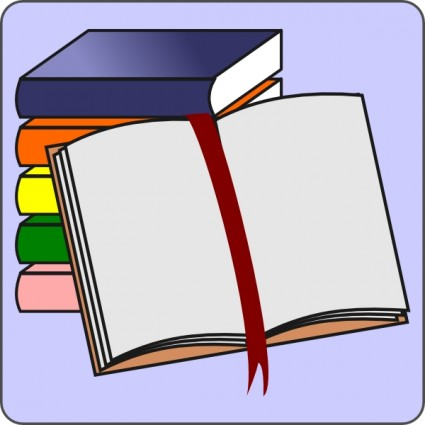 425x425 Open Book Clip Art Template Free Clipart Images 3