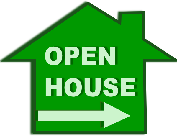 600x461 School Open House Clip Art