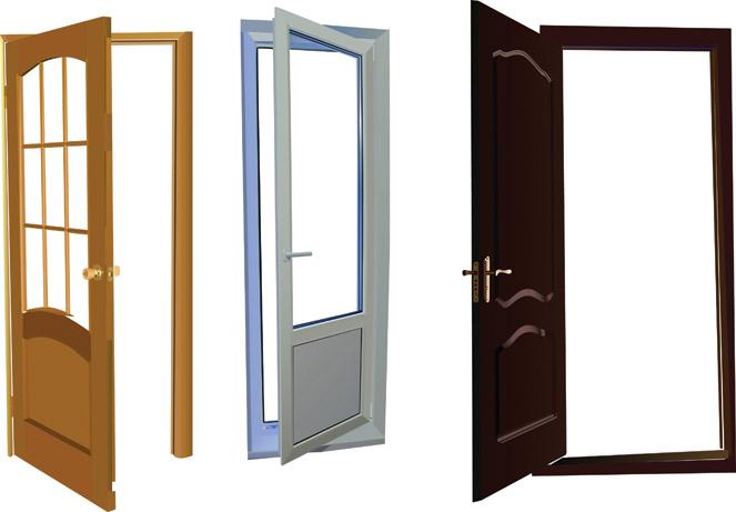 663x461 Open Front Door Clipart For Best Pics Photos Vector Clip Art Door