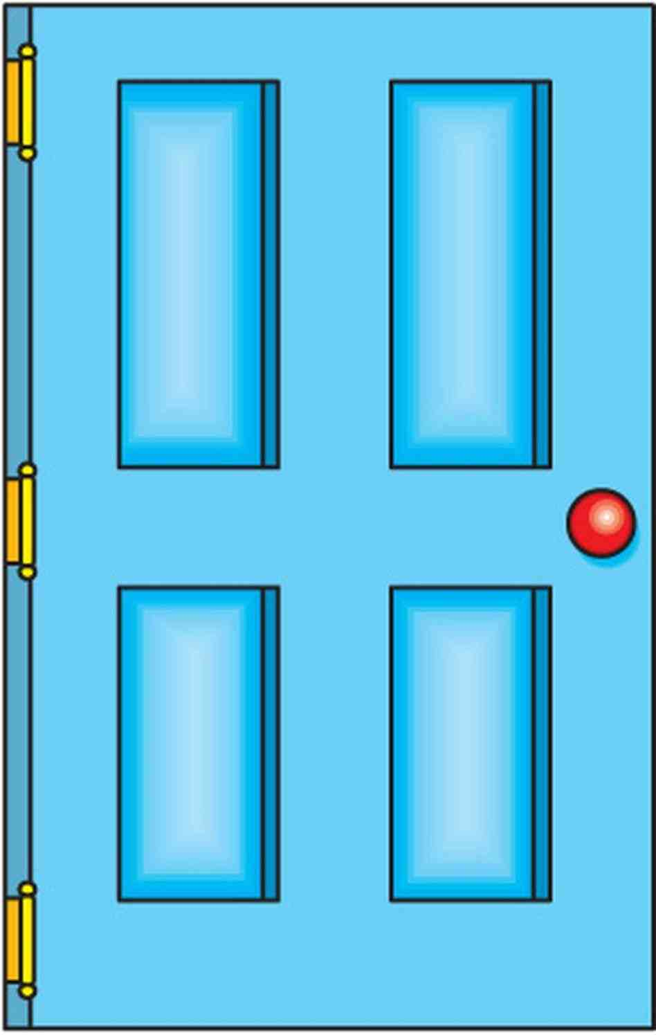948x1496 Door S Zone Open House Collection Open School Doors Clipart House