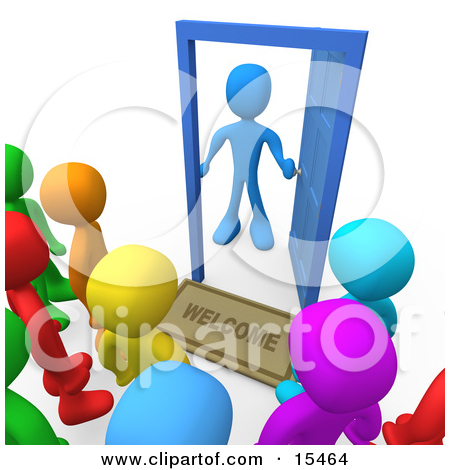 450x470 Awesome Open Door Welcome Clipart With 3d Clip Art Of A Welcome