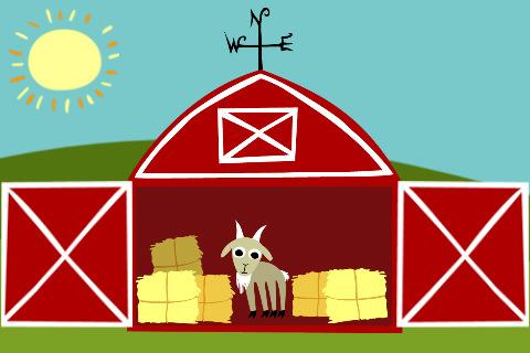 480x320 Barn Clipart Barn Door
