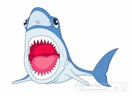 550x400 Tiger Shark Clipart Mouth Open Clip Art'93804