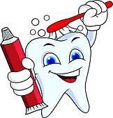 162x170 Wonderful Teeth Clip Art Clipart Illustration Panda Free Images