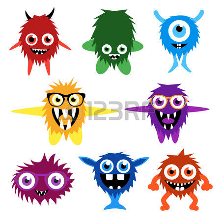 450x450 Alien With Open Mouth Clipart