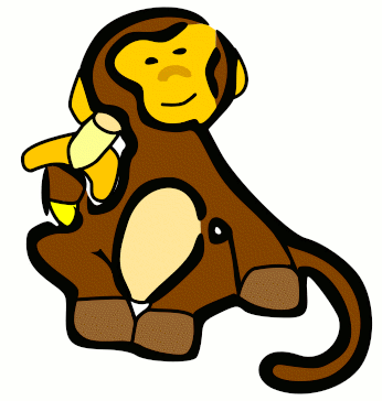 346x364 Free Monkey Clipart