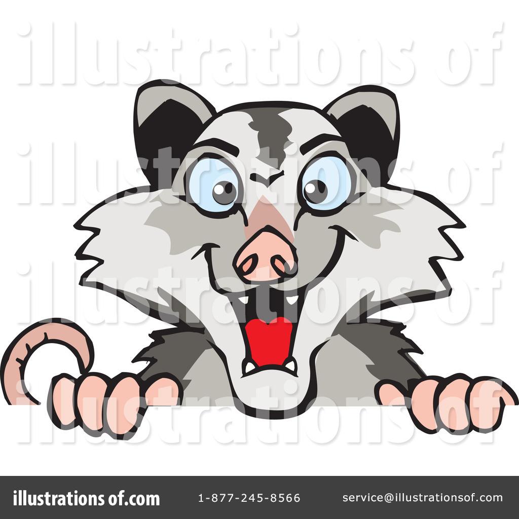 1024x1024 Opossum Clipart