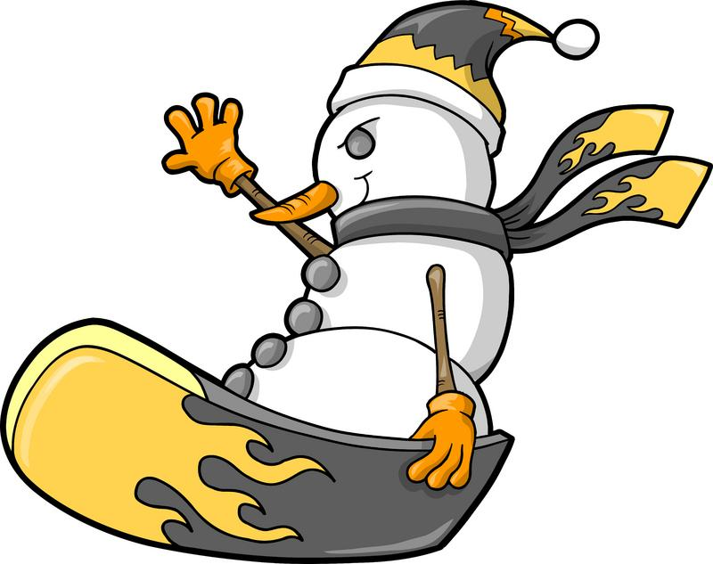 800x633 Snowboarding Cliparts