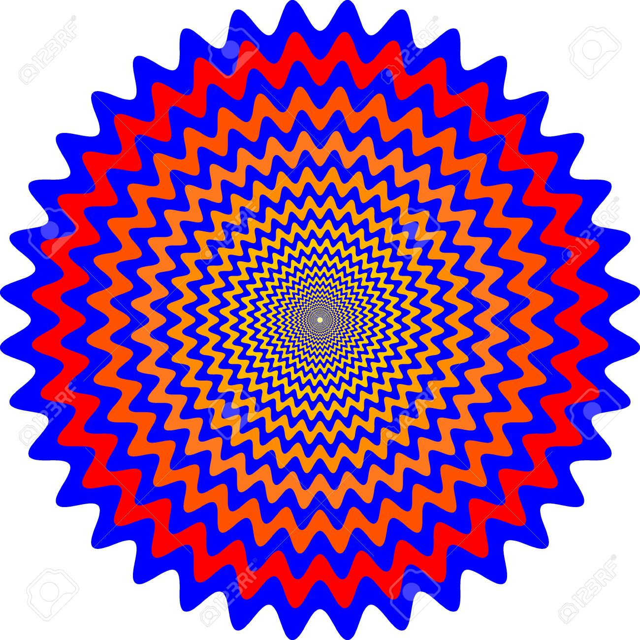 1300x1300 Hypnotic Clipart Optical Illusion