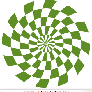 316x316 Spiral Optical Illusion Vector Illustrator 123freevectors