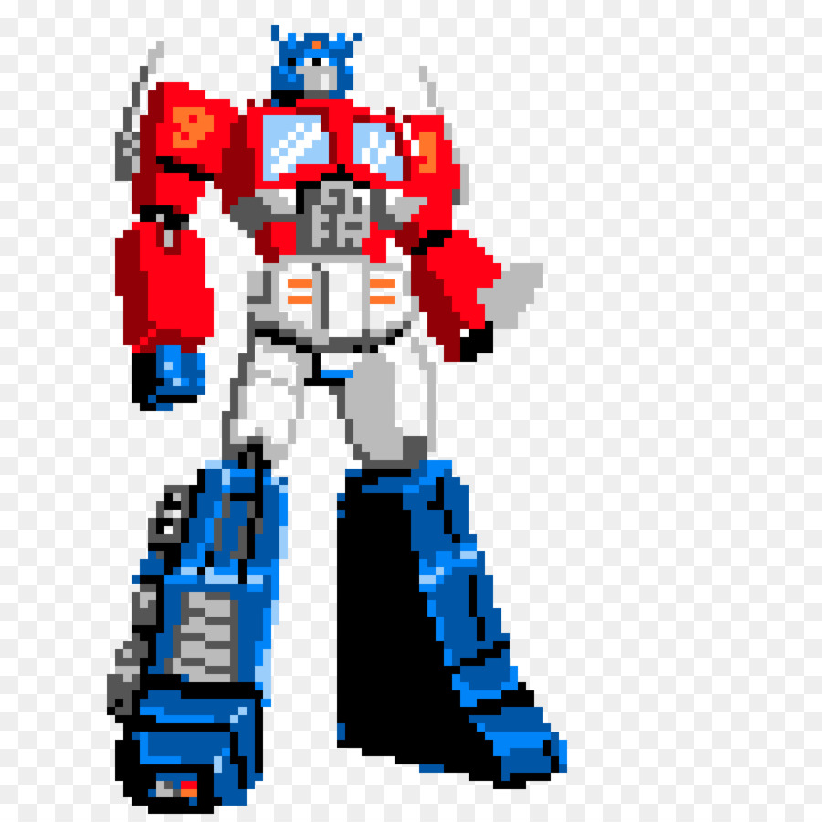 900x900 Optimus Prime Bumblebee Transformers Autobots Pixel Art Clip Art