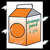 160x160 Abeka Clip Art Orange Juice Carton 1 1 Pint