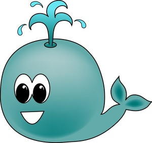 300x282 Whale Clipart Organism 4052511