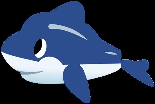 500x336 Blue Whale Clipart Marine Animal