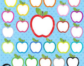 340x270 Apple Clipart Apple Clip Art Orchard Clipart Harvest
