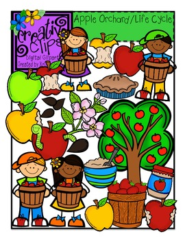 270x350 Apple Orchard And Apple Life Cycle Bundle {Creative Clips Digital