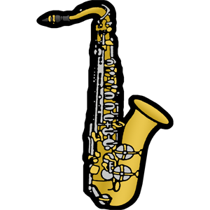 300x300 Free Saxophone Clip Art Image Png Beginning Band Amp Orchestra