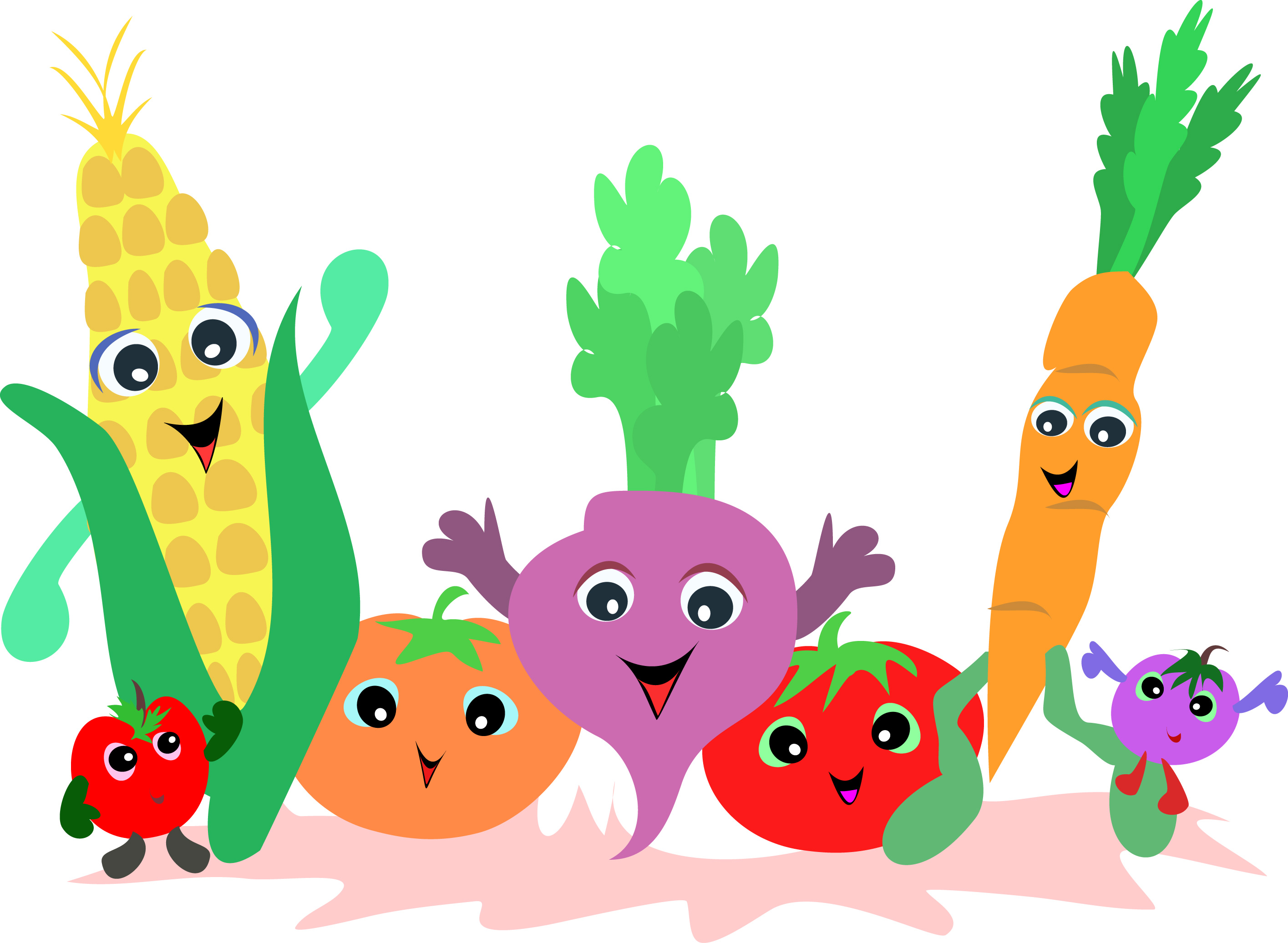 2830x2073 Unusual Ideas Clipart Vegetables 485 Best Fruit And Vegetables