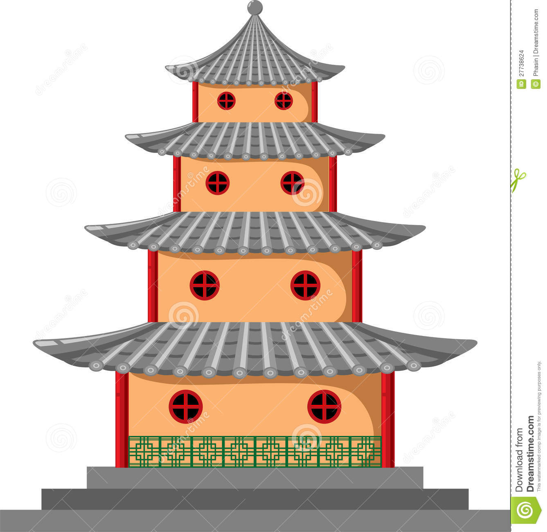 1337x1300 Chinese Clipart Pagoda