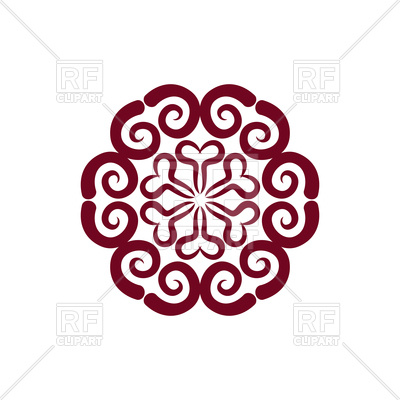 400x400 Arabic Oriental Decorative Ornament Royalty Free Vector Clip Art