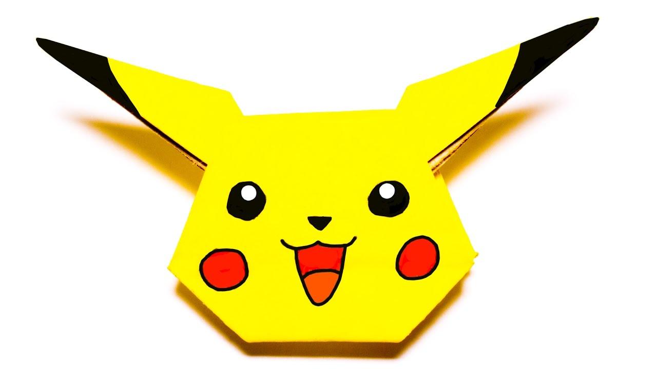 1280x720 Pokemon Pikachu. Easy Origami Tutorial