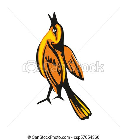 428x470 Wing Oriole Vector Clipart Illustrations. 95 Wing Oriole Clip Art