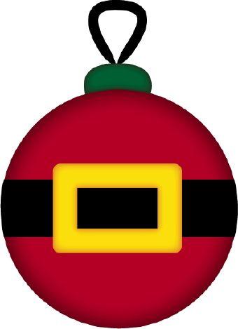 340x469 Christmas Ornament Santa Clip Art Navidad Clip Art