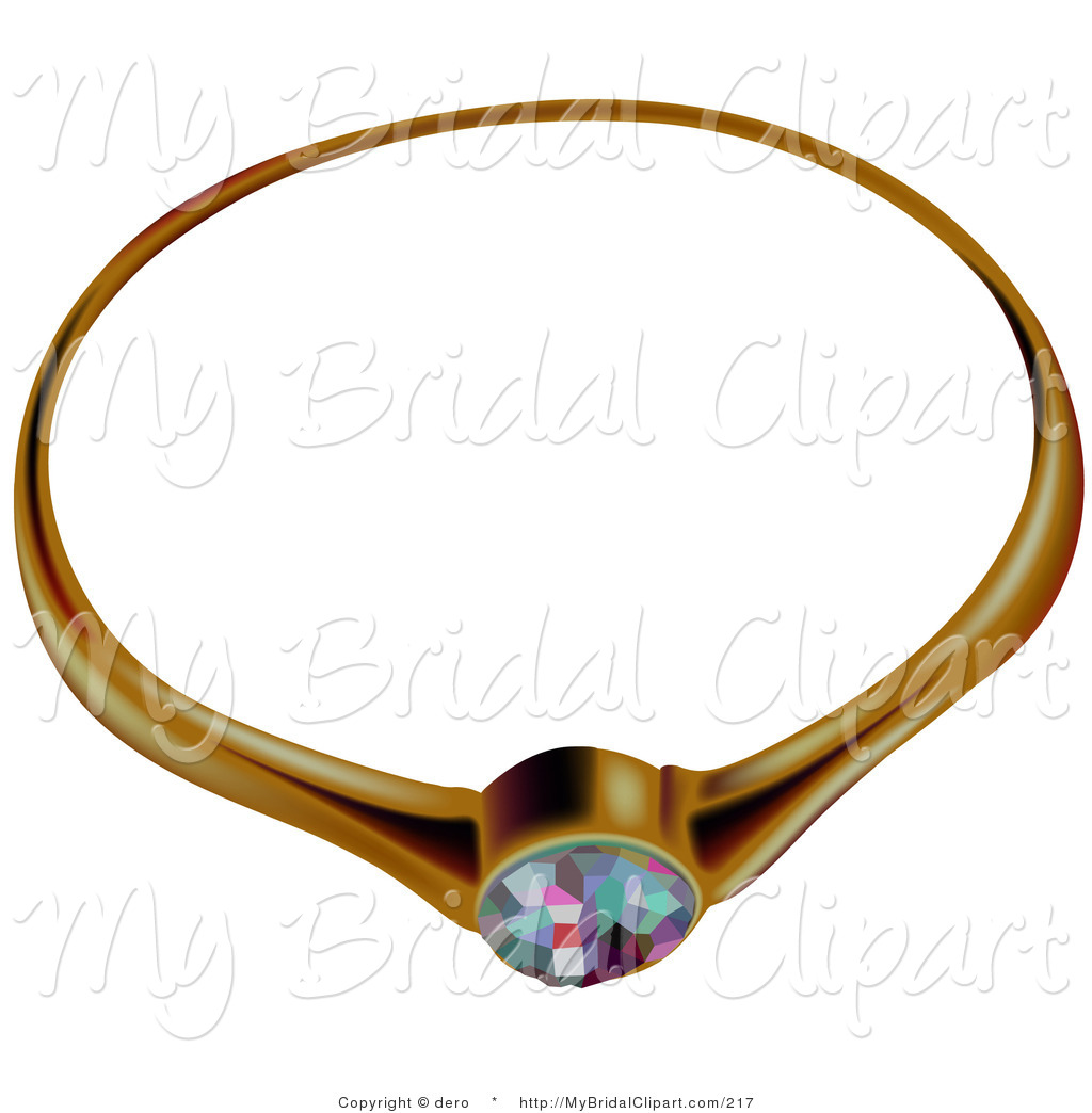 1024x1044 Bridal Clipart Of An Ornate Gold Diamond Or Opal Wedding Ring By