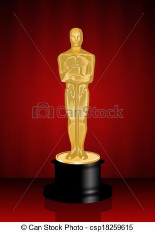 315x470 Trophy Clipart Oscar Award Jpeg