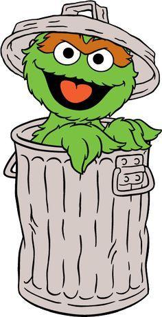 236x459 Resultado De Imagen Para Oscar The Grouch Cartoon Sesame Street