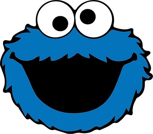 500x439 Free Svg Cookie Monster Lots Of Sesame St Here Elmo Big Bird Oscar
