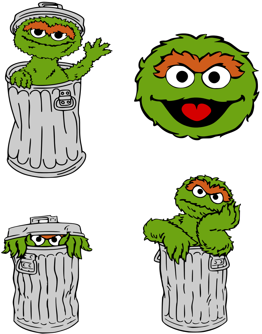 Oscar The Grouch Clipart At Getdrawings Com Free For