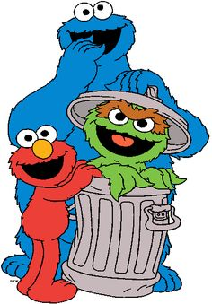 236x339 Oscar The Grouch Clipart Big Bird