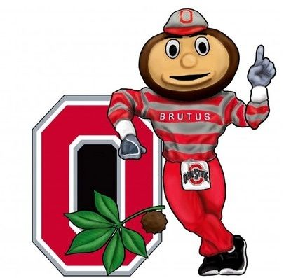 425x397 Ohio State Buckeyes Clip Art Ohio State Buckeyes Wall Art