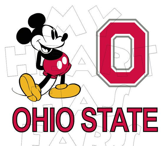 570x495 Printable Diy Mickey Mouse Osu Football Iron On By Myhearthasears