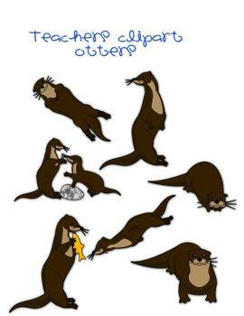 270x350 Otter Clipart Otters, Teaching Ideas And Teacher Pay Teachers