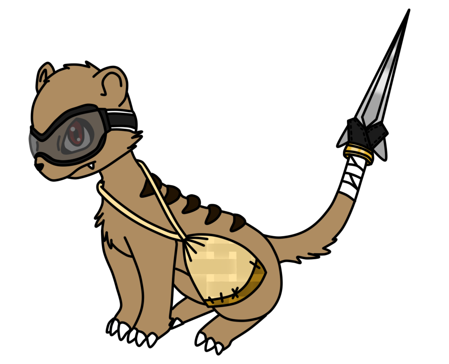 898x729 Otter Clipart Mongoose