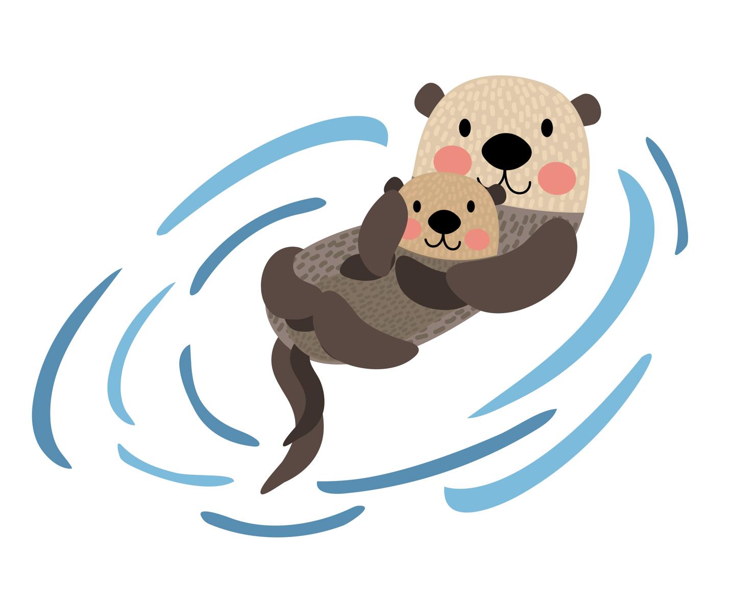 1438x1200 Sea Otters Sea Otter Town