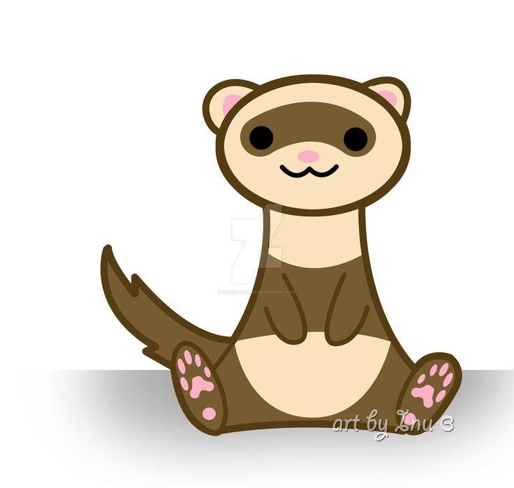 736x699 Top 95 Ferret Clip Art